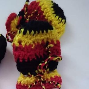 New aboriginal baby mittens